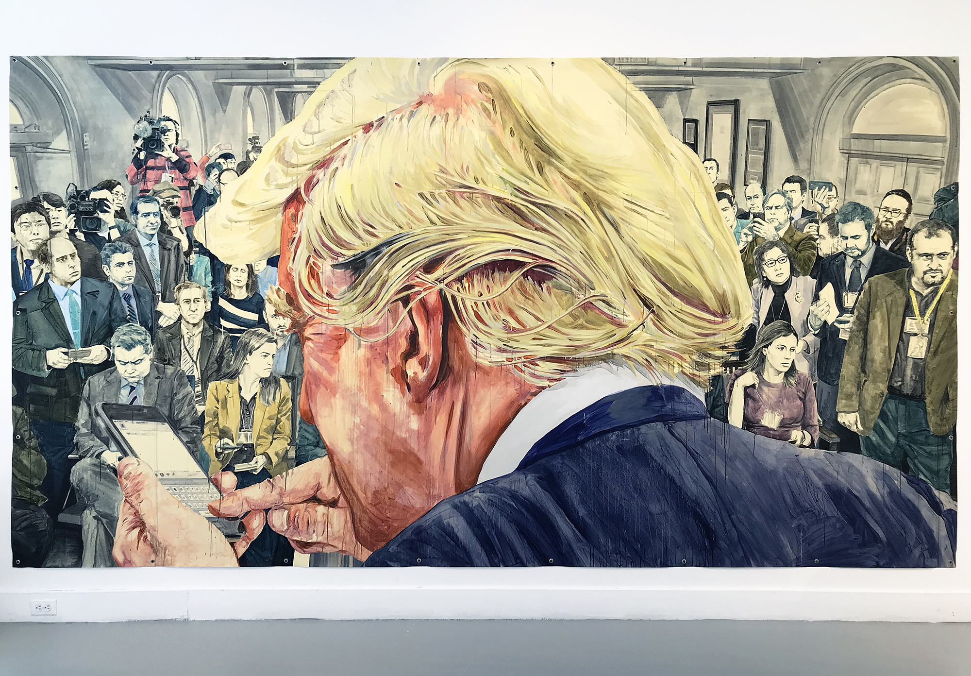 """#Freedomofspeech (after Norman Rockwell)"""