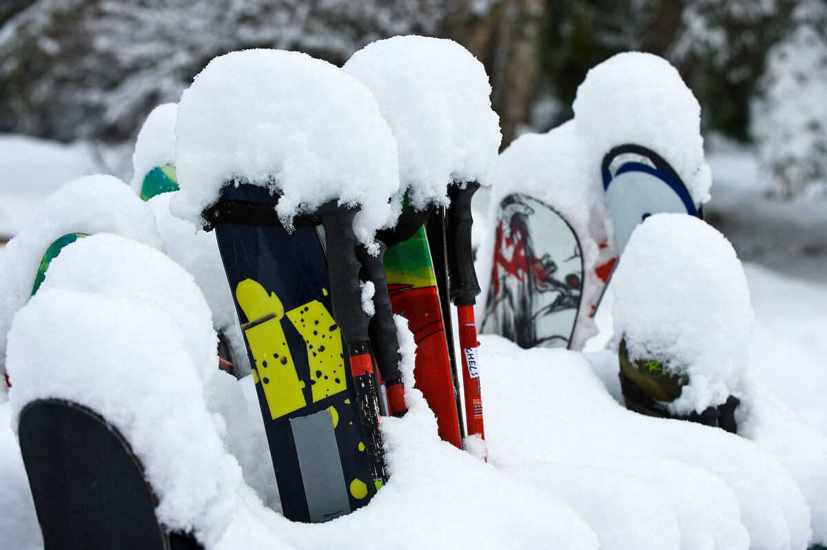Armada Skis With Snow.jpg