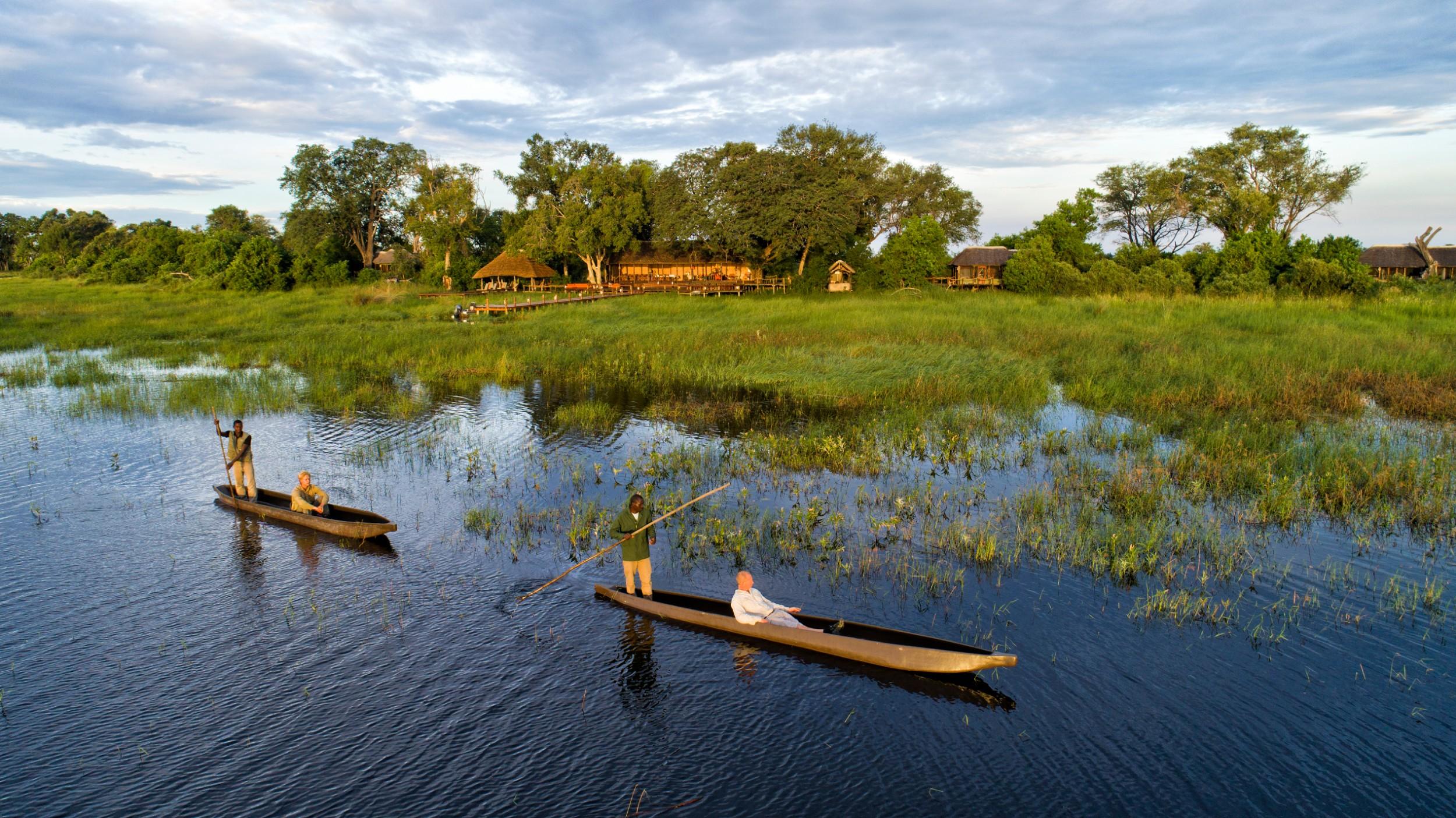 17Mapula Lodge - Mokoros outside camp.jpg