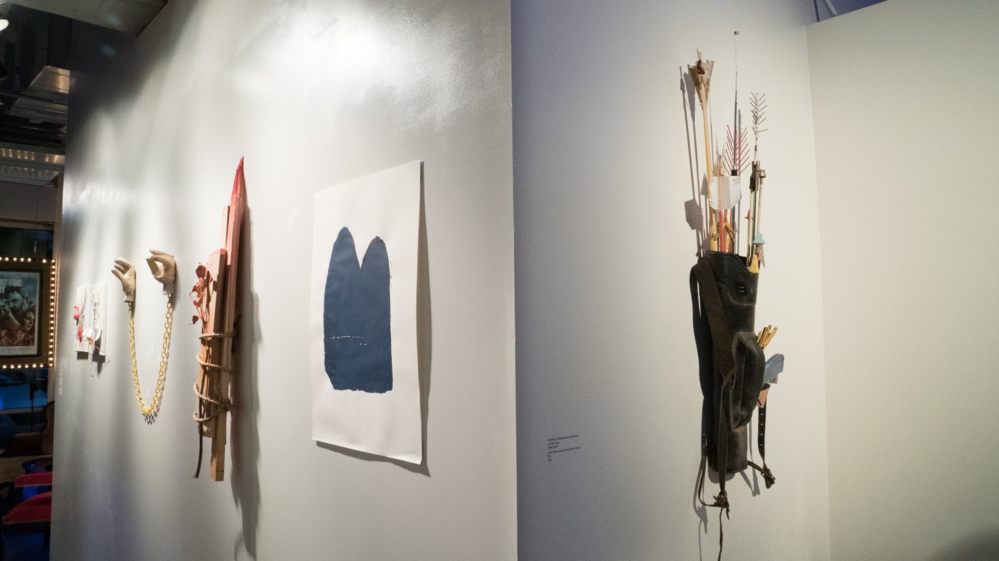 Laughing and Screaming (installation view)