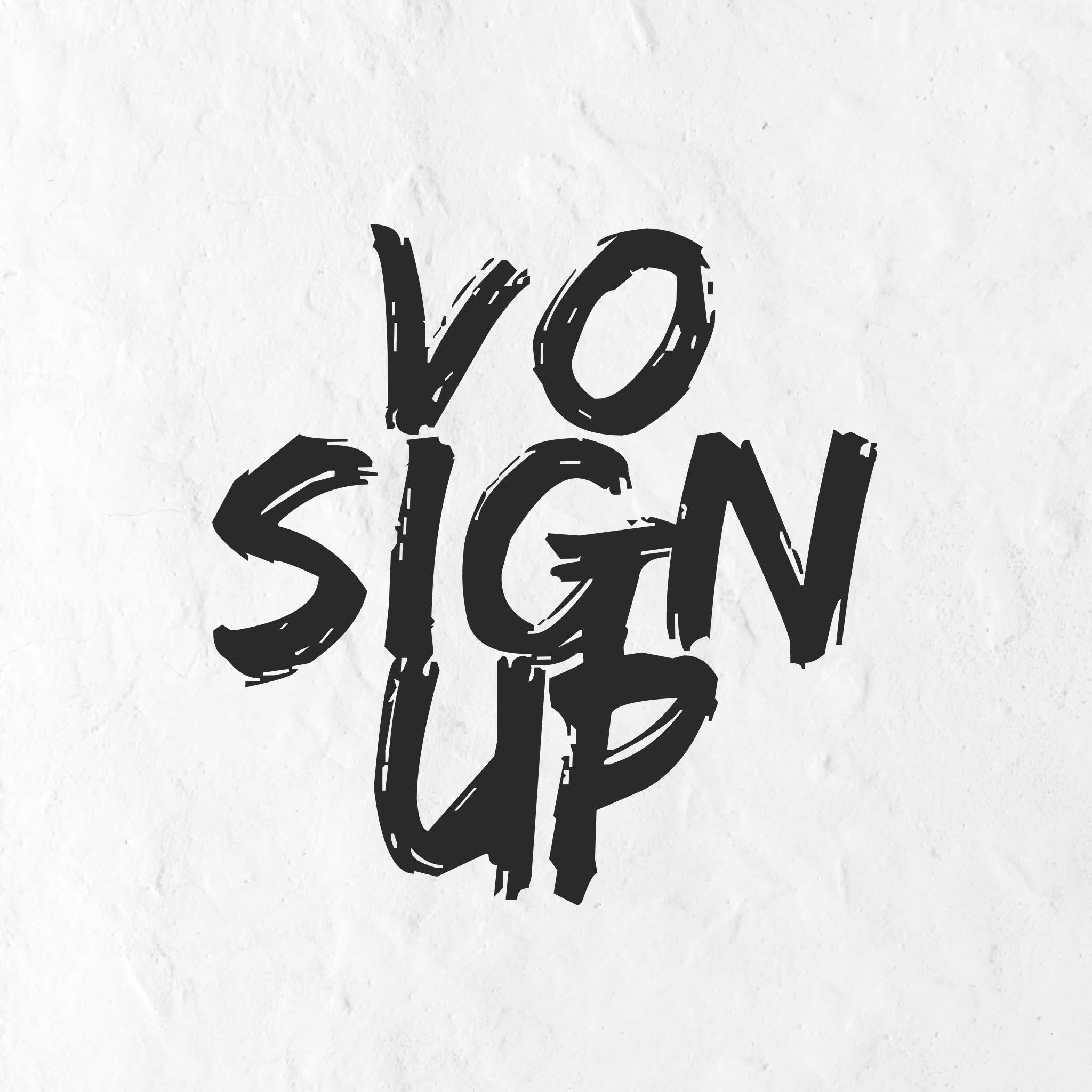 V.O. Sign up Form