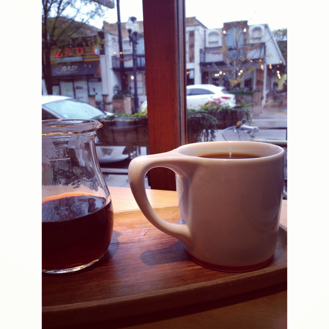 Chicago coffee break <3