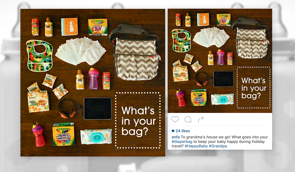 What's in Your (Diaper) Bag?