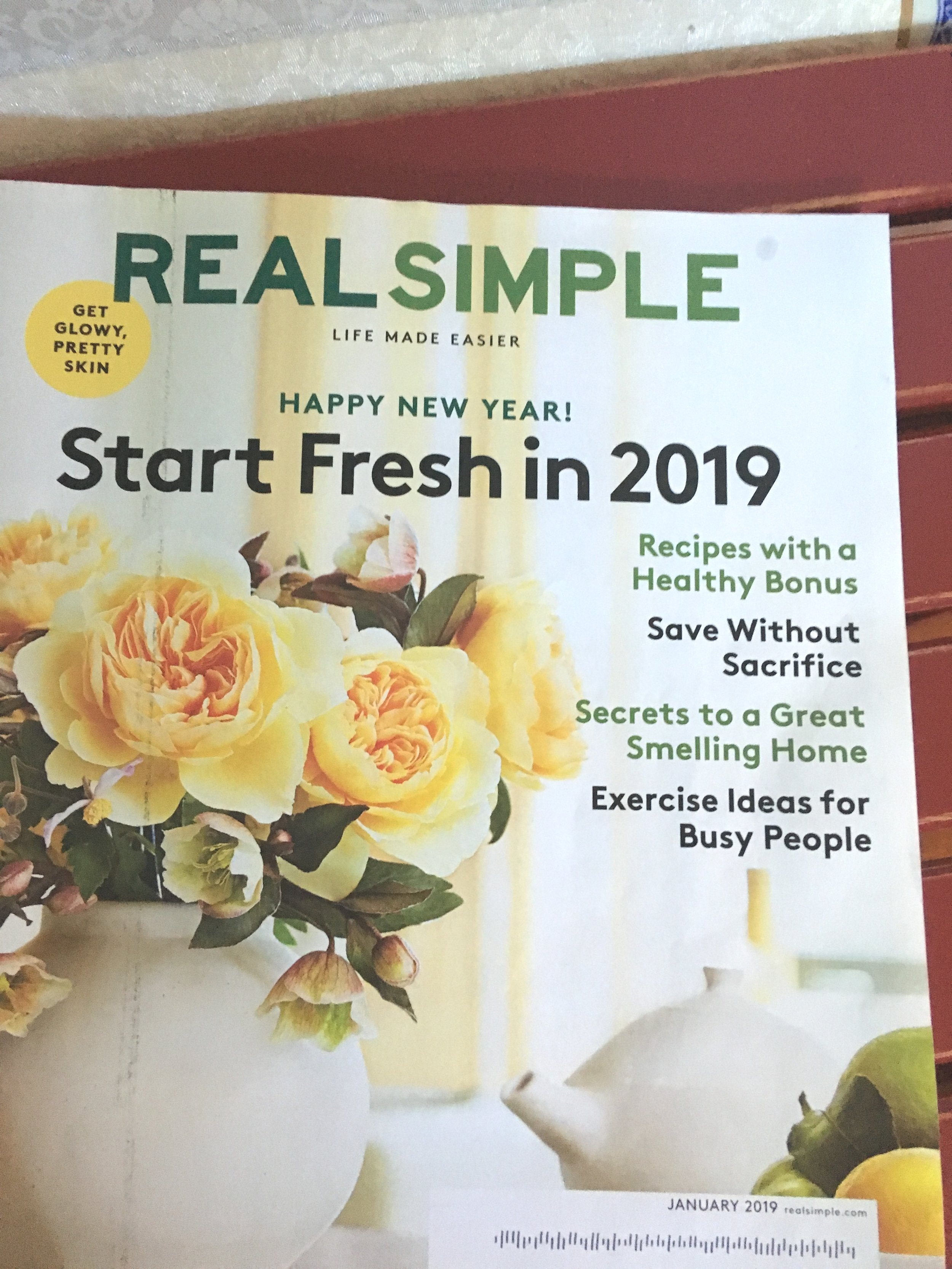 "Kudos to ""Real Simple"" Magazine for their article, ""Secrets to a Great Smelling Home"". The article shared true, cost-effective, and HEALTHY advice also sensitivities to scents and chemicals!"