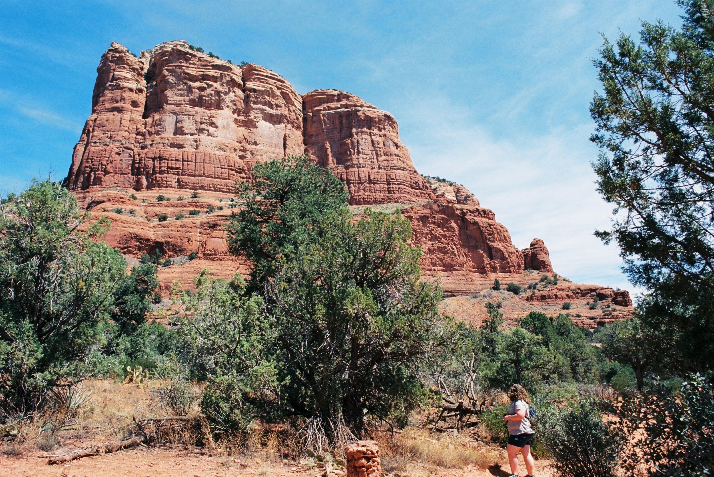 Hot, dry, and green in Sedona