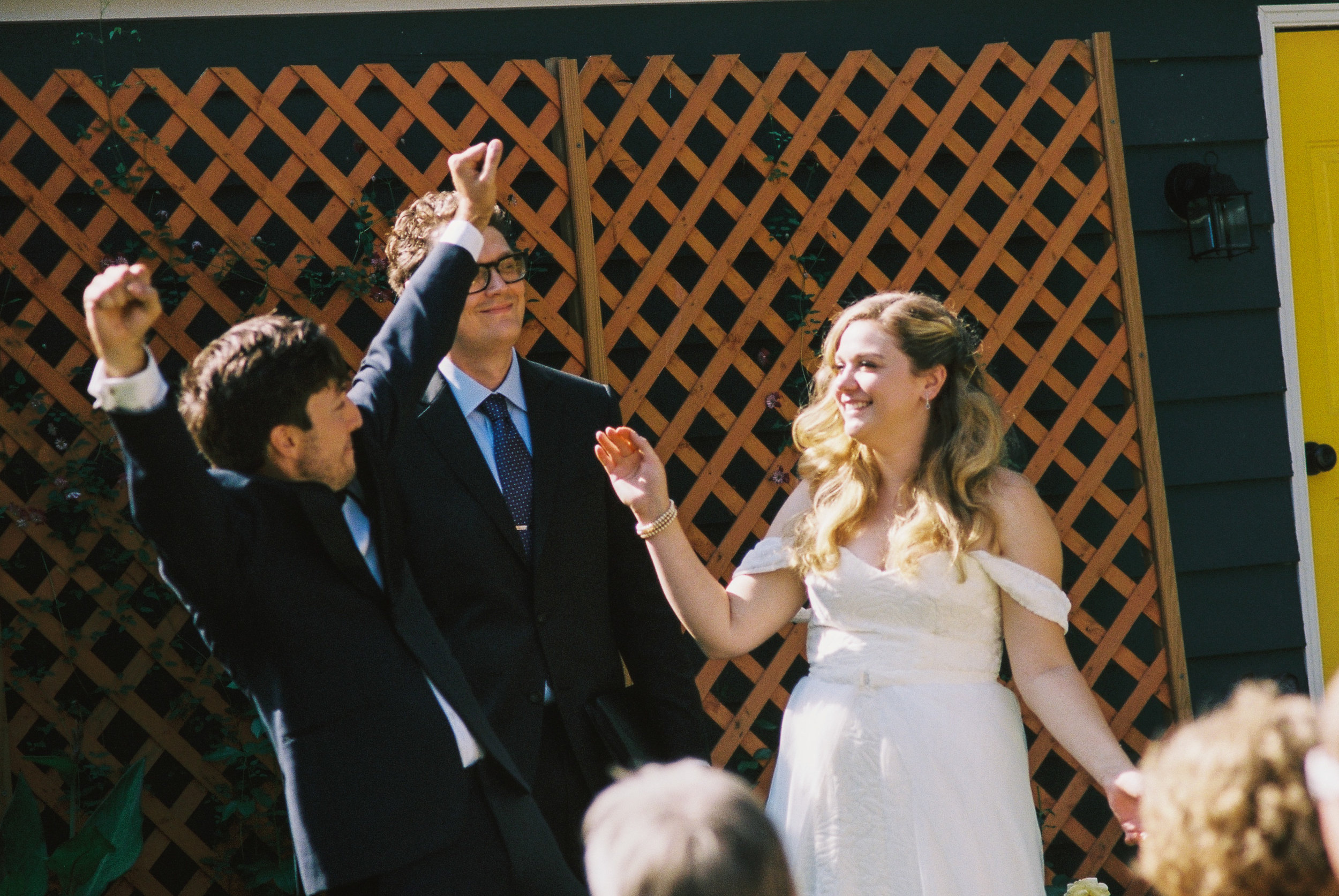 Eric and Kelsey, married!
