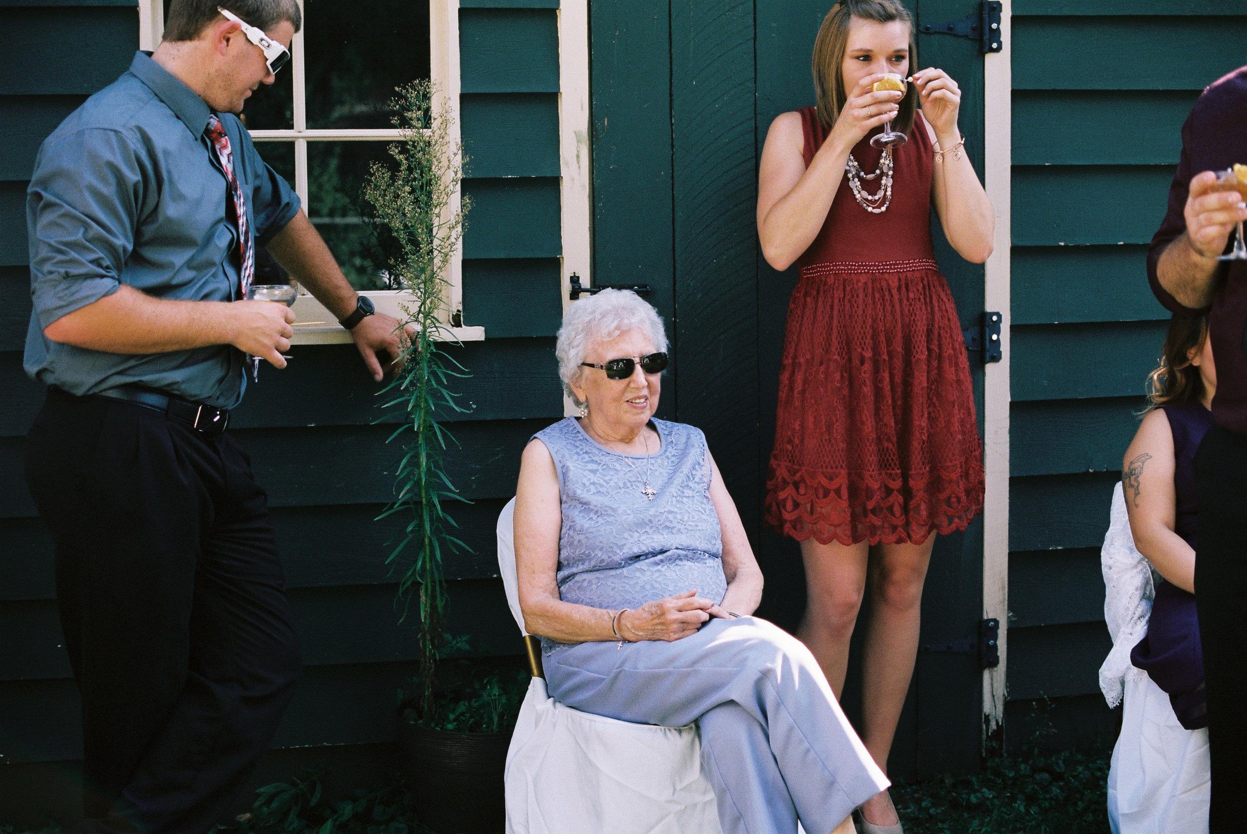 Grandma and family