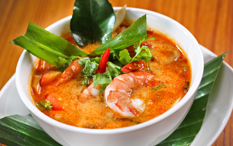 Tom yum kung soup - Photo credit Tom Yum Kung Phnom Penh website