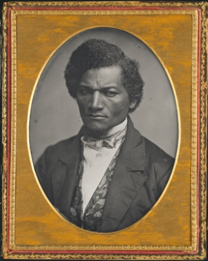 Samuel J Miller, Frederick Douglass, 1847/52, Daguerreotype, 14 x 10.6 cm, Art Institute of Chicago