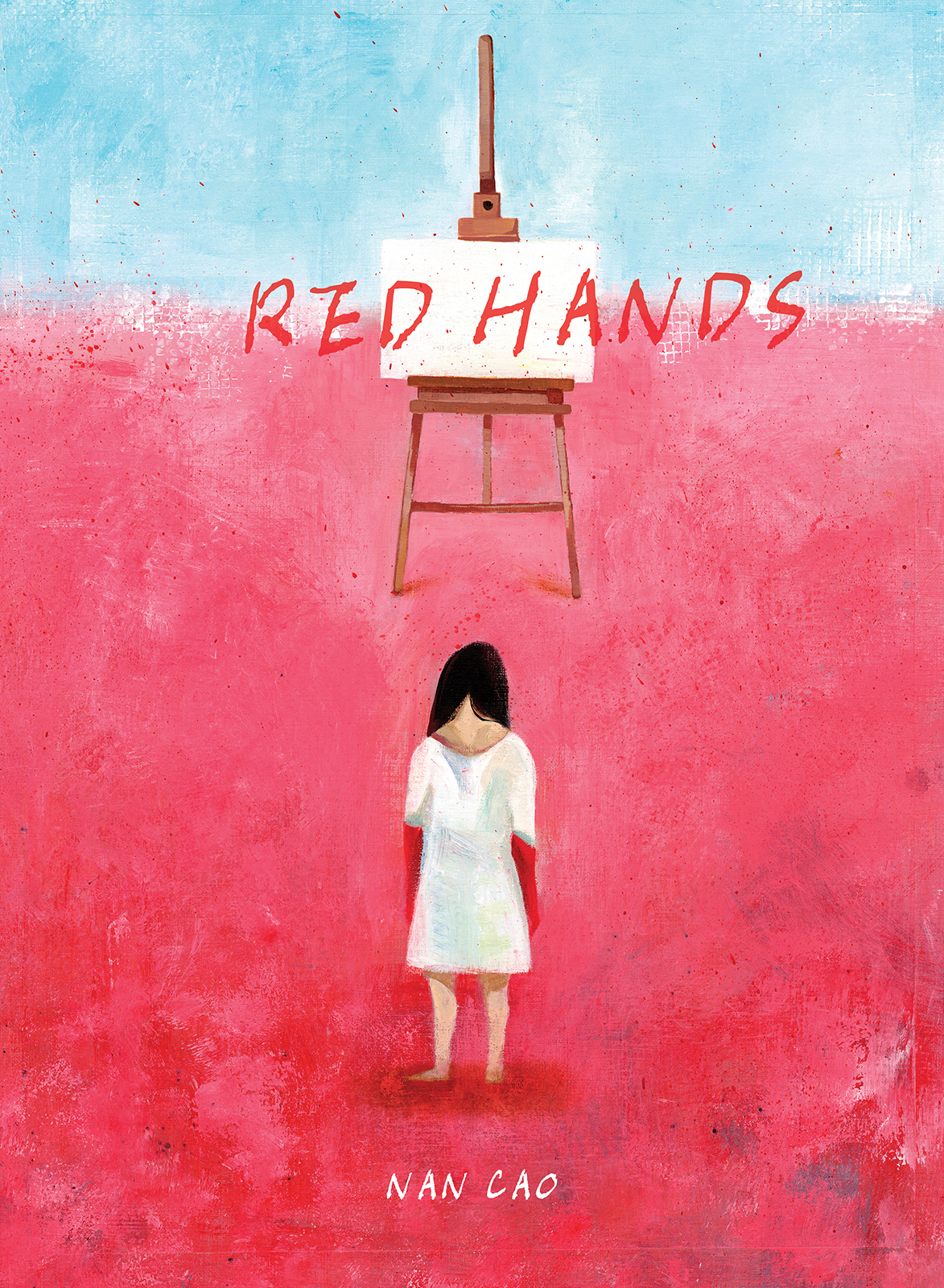 Illustration from the book  RED HANDS