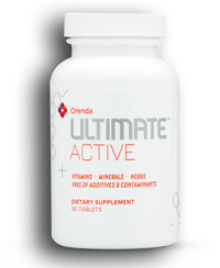 ultimate active vitamins, minerals, herbs (orenda)