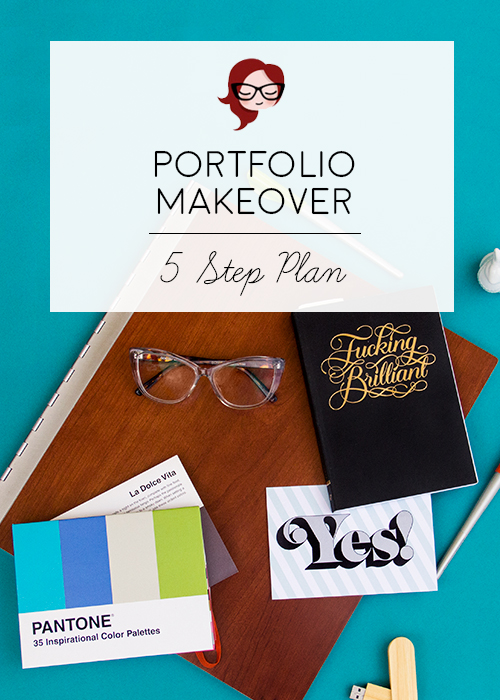 How do we undertake the huge process of re-working our portfolio, and how do we fight the anxiety? My weapons of choice this time around are planning, research and inspiration. I've created a 5-step list to help navigate the process and make it feel less overwhelming.