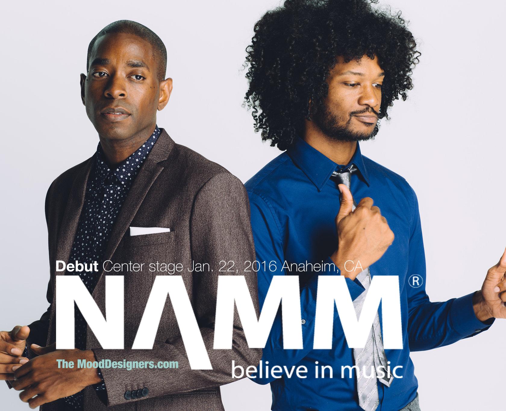 Mood Designer perform NAMM Center Stage
