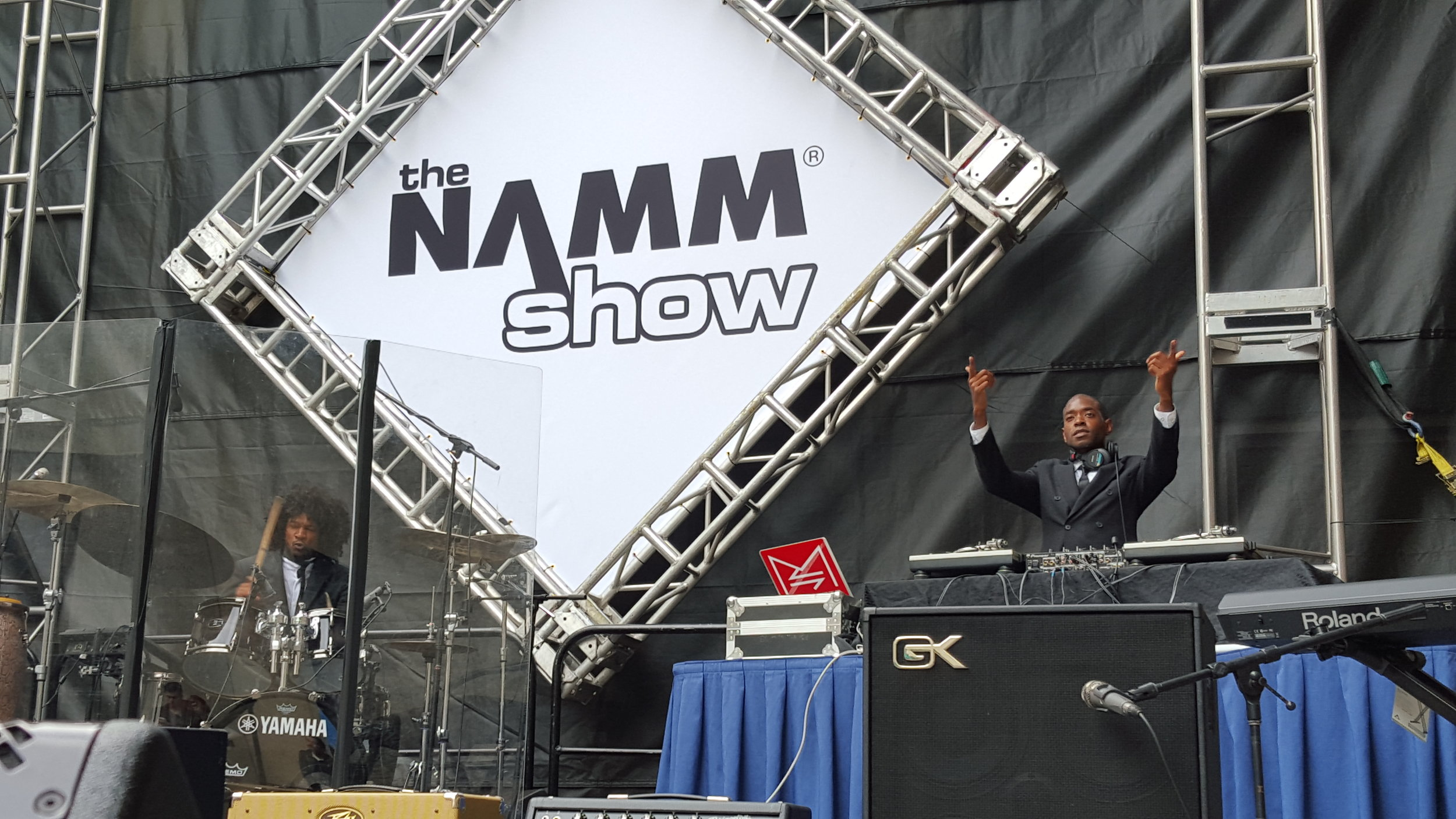 The Mood Designers Performing 2016 NAMM (the Largest Music Conference)