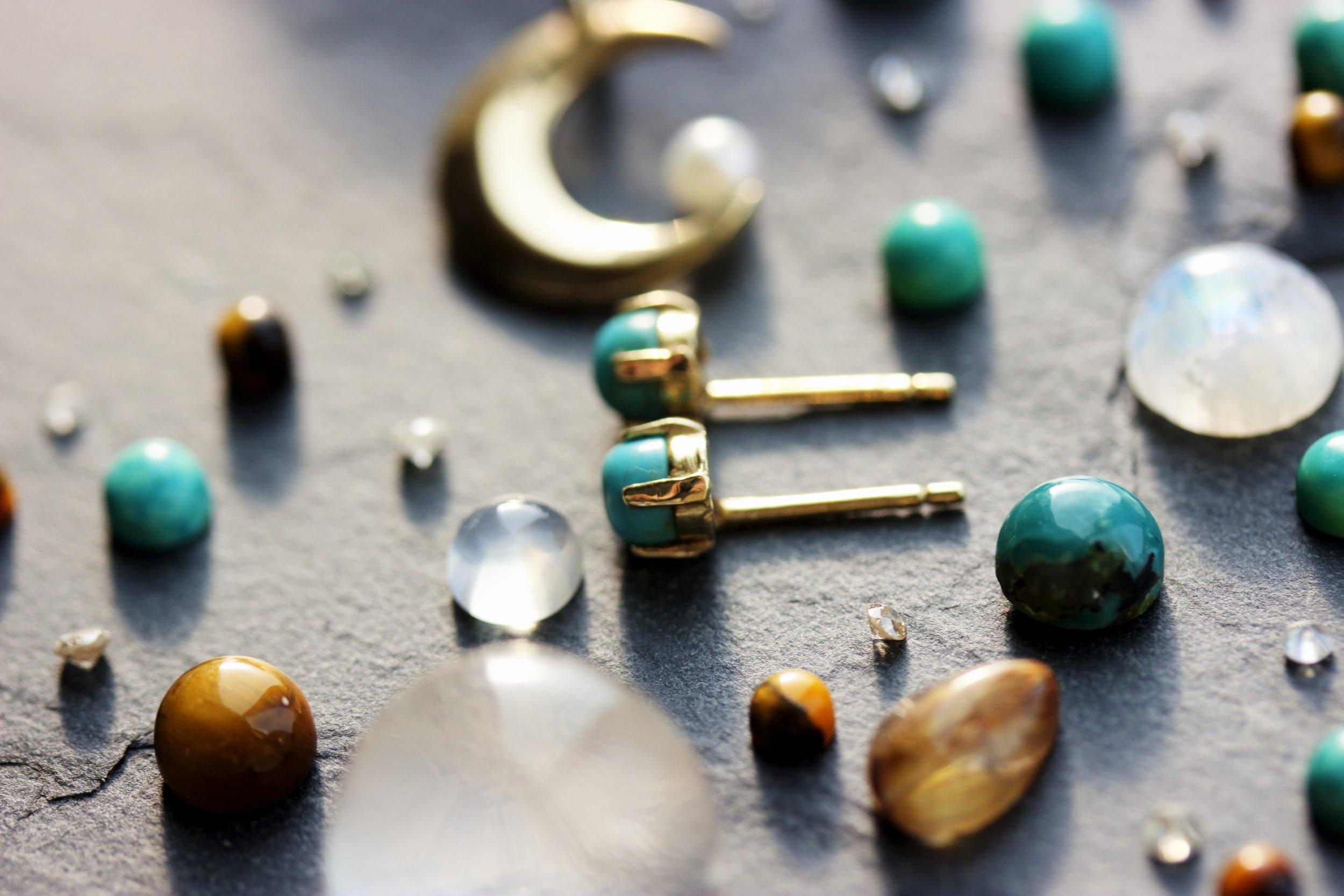 Yellow_Gold_Turquoise_Post_Earrings_Gem_Matrix_2013-10-01 21.13.17_tonemapped.jpg
