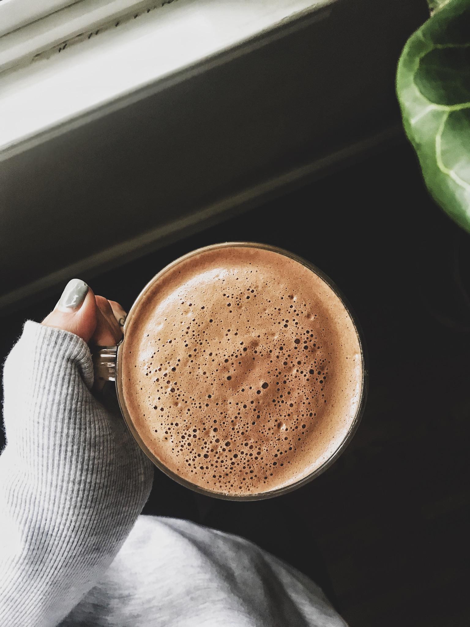 Hormone Balancing Maca Choco Milk — shut the fig up