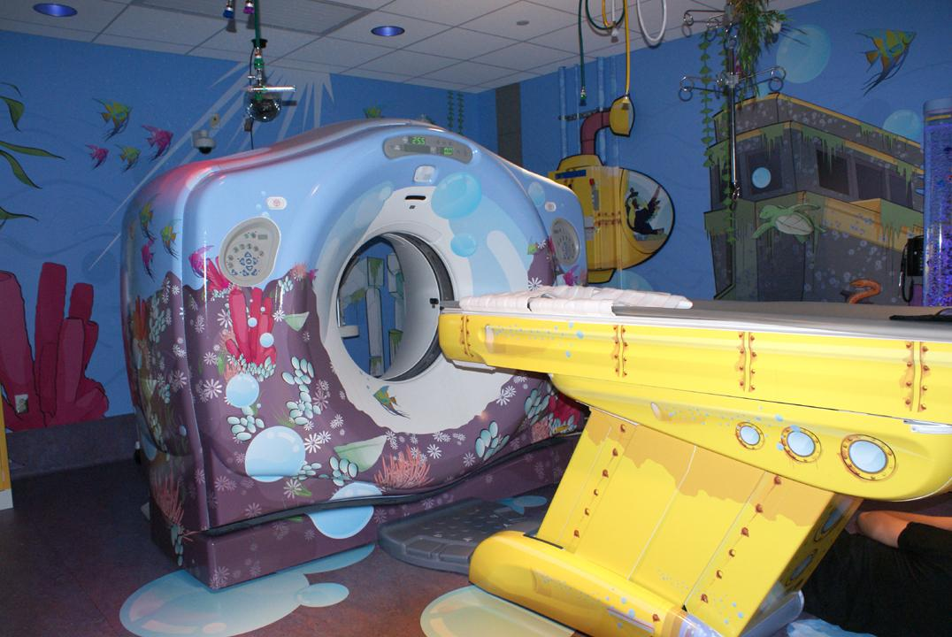 Read more about the   famous MRI adventures  , created by Doug Dietz.