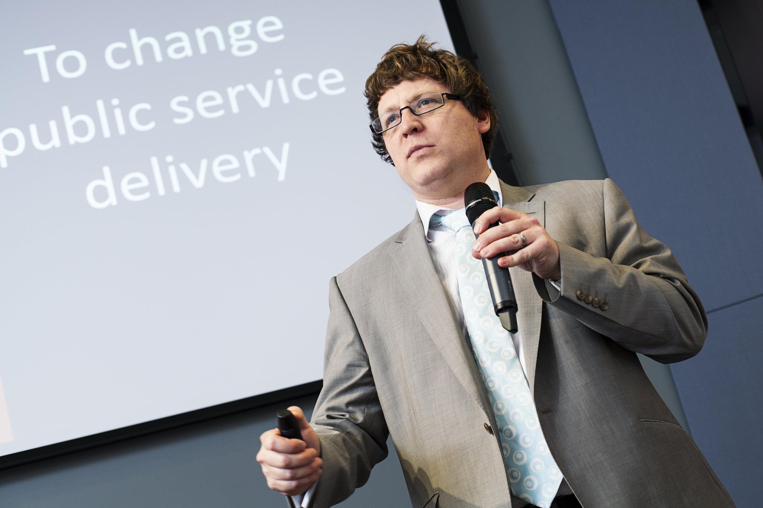 Benjamin Taylor, of RedQuadrant, talks about service design in the public sector.