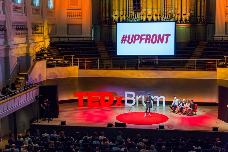 Lauren Currie speaks at TEDx Brum
