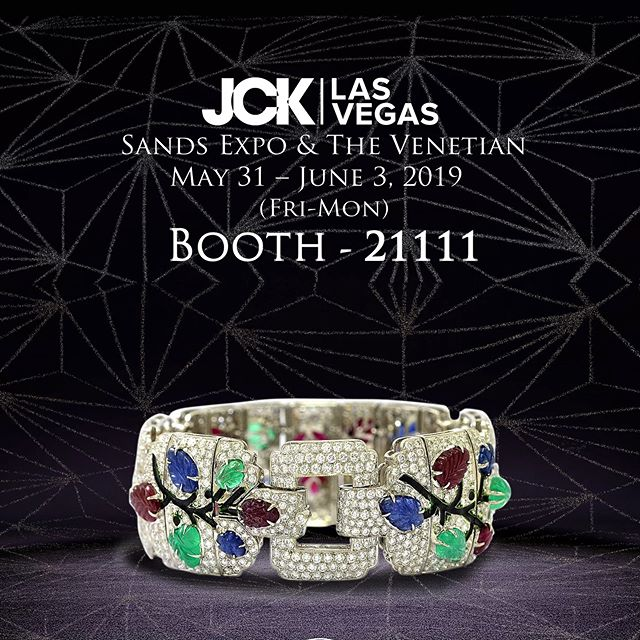 Make an appointment at the JCK Las Vegas. Fabulous new pieces, don't miss... #jcklasvegas #finejewelry #highjewelry #highjewellery #royaljewels #royaljewellery #regal #tuttifrutti #artdeco #deco #bracelets #earrings #necklaces #rings #lasvegas
