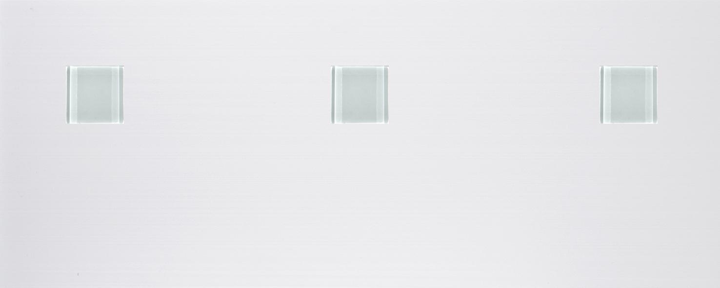 Bangkok Inserto Cristalo Blanco (3) · 20x50