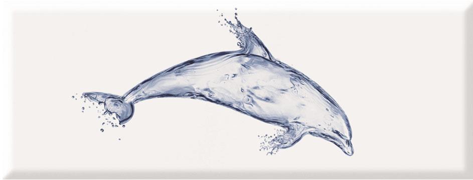 Navy Decor Dolphin  · 22,5x60