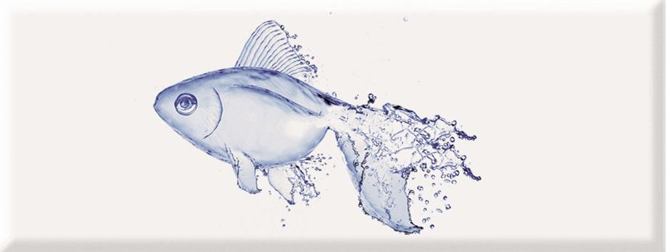 Navy Decor Fish  · 22,5x60