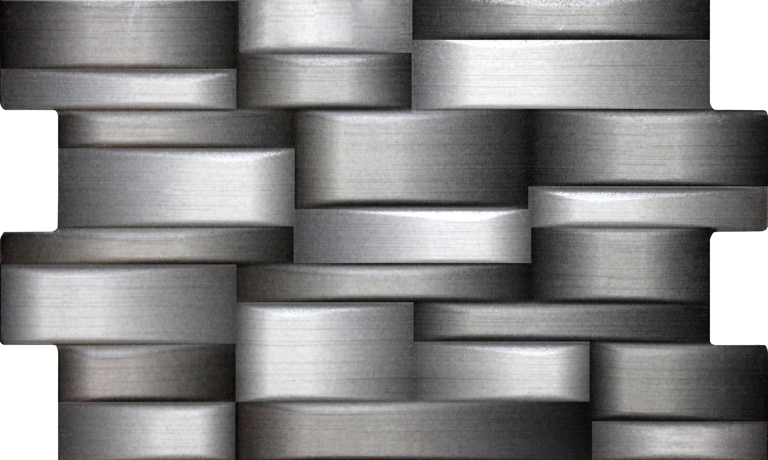Mecanic 3D Silver Mix · 33x55
