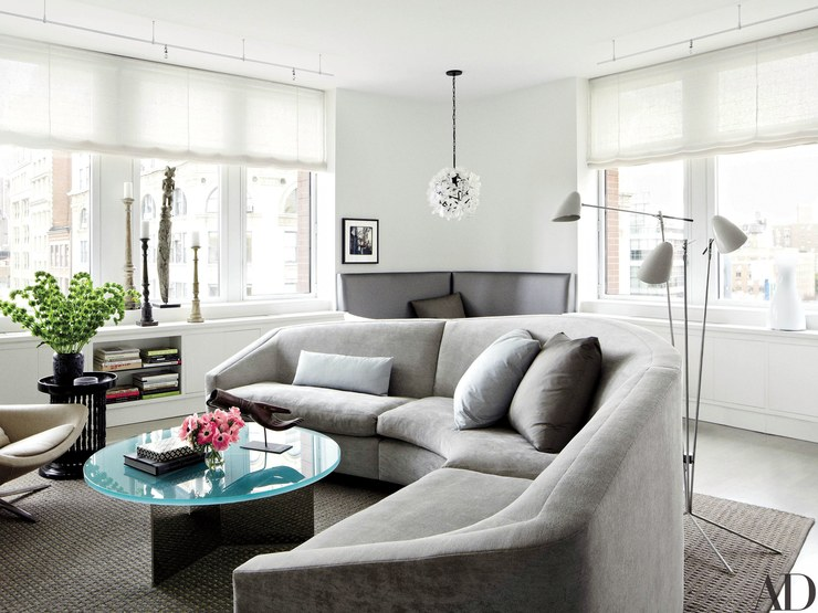 Julianna Marguilie's New York Home from Architectural Digest