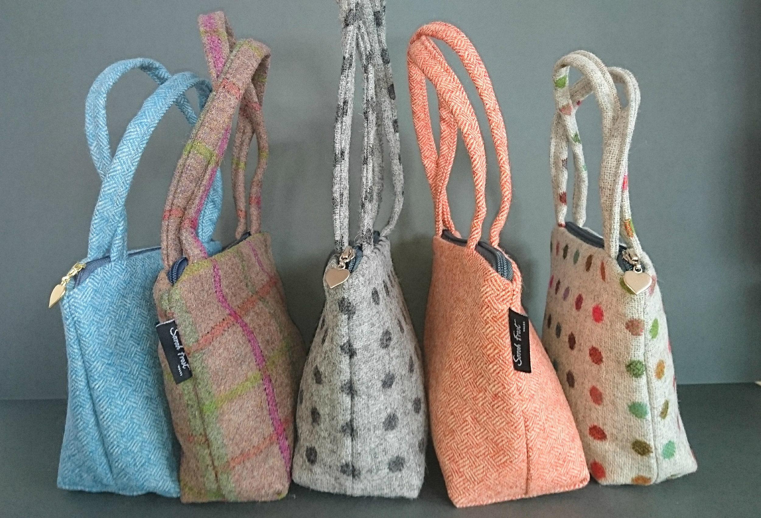 New spring/ summer collection Manon zipped handbag.