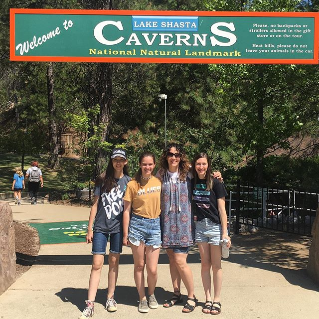 This tour was amazing! Check out the sites of the Shasta Caverns #shastalake #shastacaverns