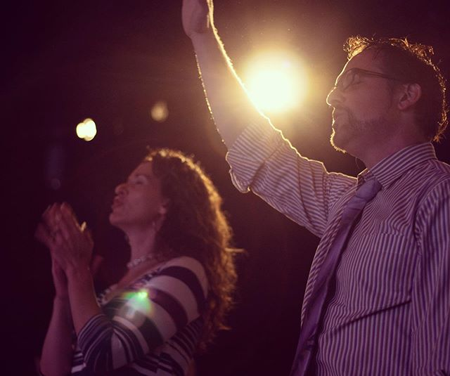 Worship God Together: This is a major key for a long and vibrant marriage. #godisthecenter #bettertogether #marriagerocks #threefoldcord