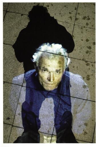Rafael Lozano-Hemmer, Under Scan, Lincoln, 2005.
