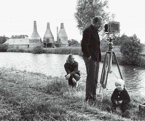 Bernd Becher, Hilla Becher and son