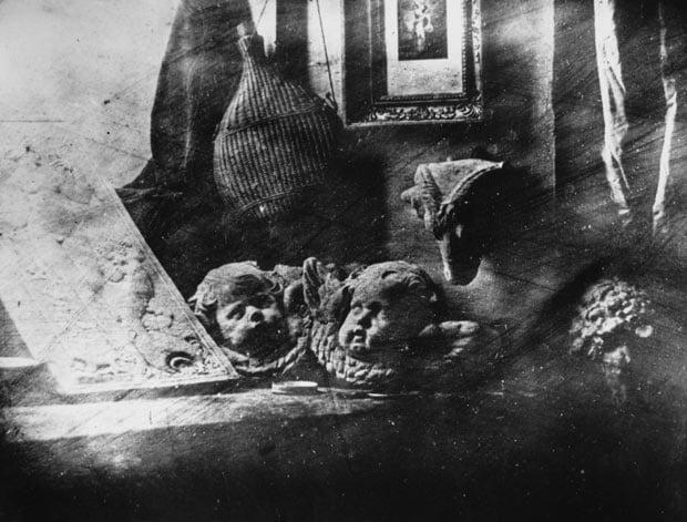 Primera fotografía de Daguerre, 1837