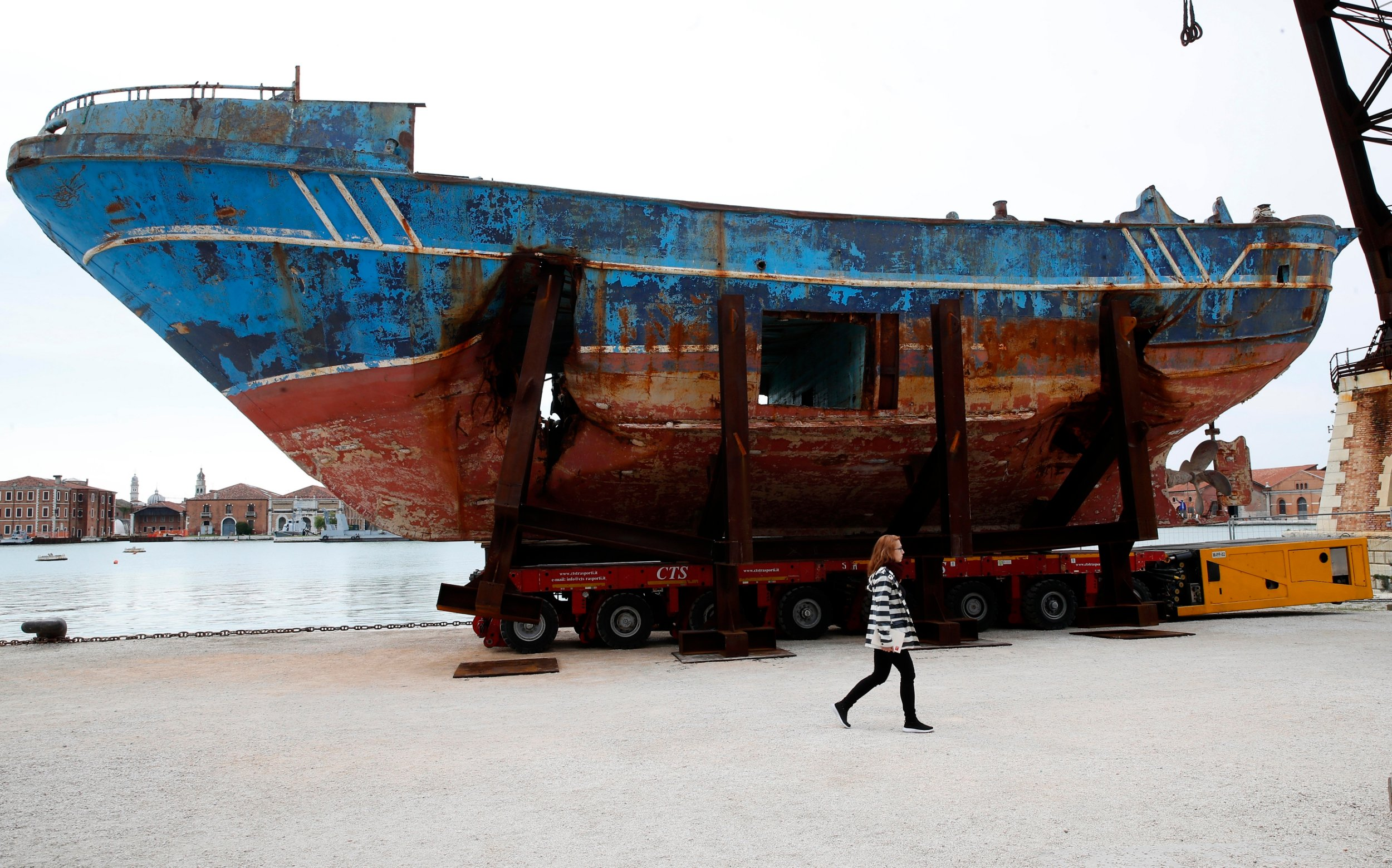 Our ship / Christoph Büchel