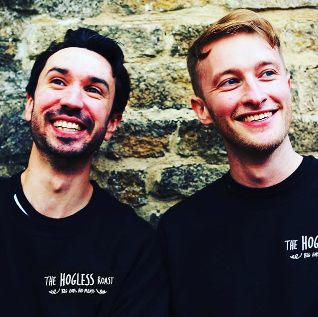 I'll see your meat-free burgers... and raise you a plant powered hog roast!! Meet Matt and Ross from @thehoglessroast. They make game changing plant based hog roasts infused with BBQ flavours and topped with vegan stuffing and crackling!  They started up last year and now cater for events, pop-ups and markets all over the UK.  We're hoping Mission Kitchen can be their London base of operations when our shared kitchens open this summer.  www.thehoglessroast.com  #BigEatsNoMeats #FoodMakers