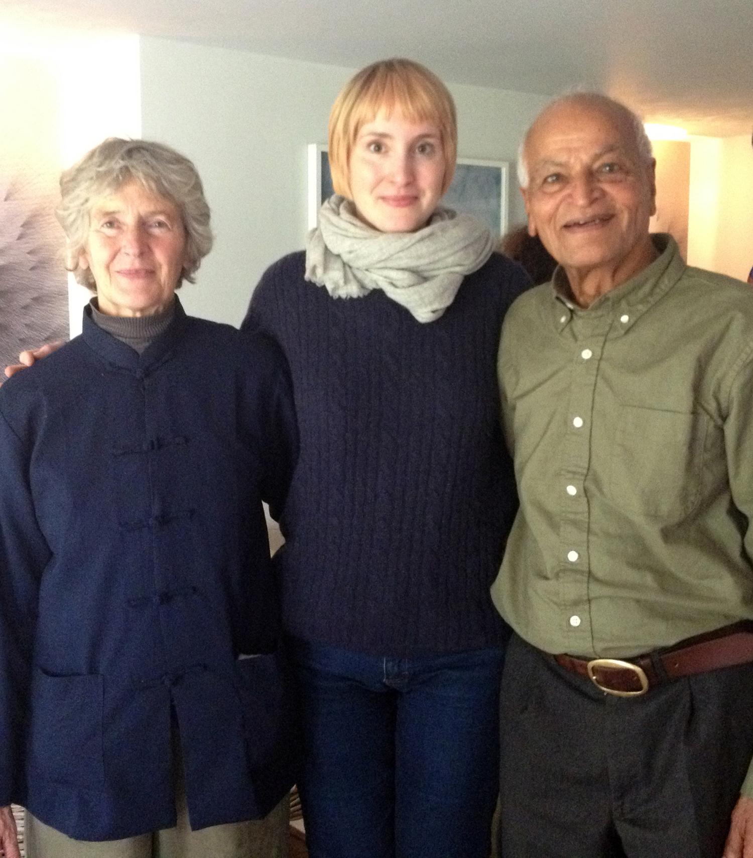 Satish, June and myself