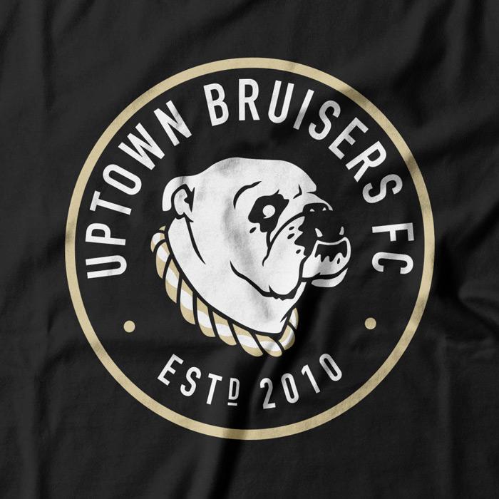 Tshirt / Logo for the Uptown Bruisers Football Club