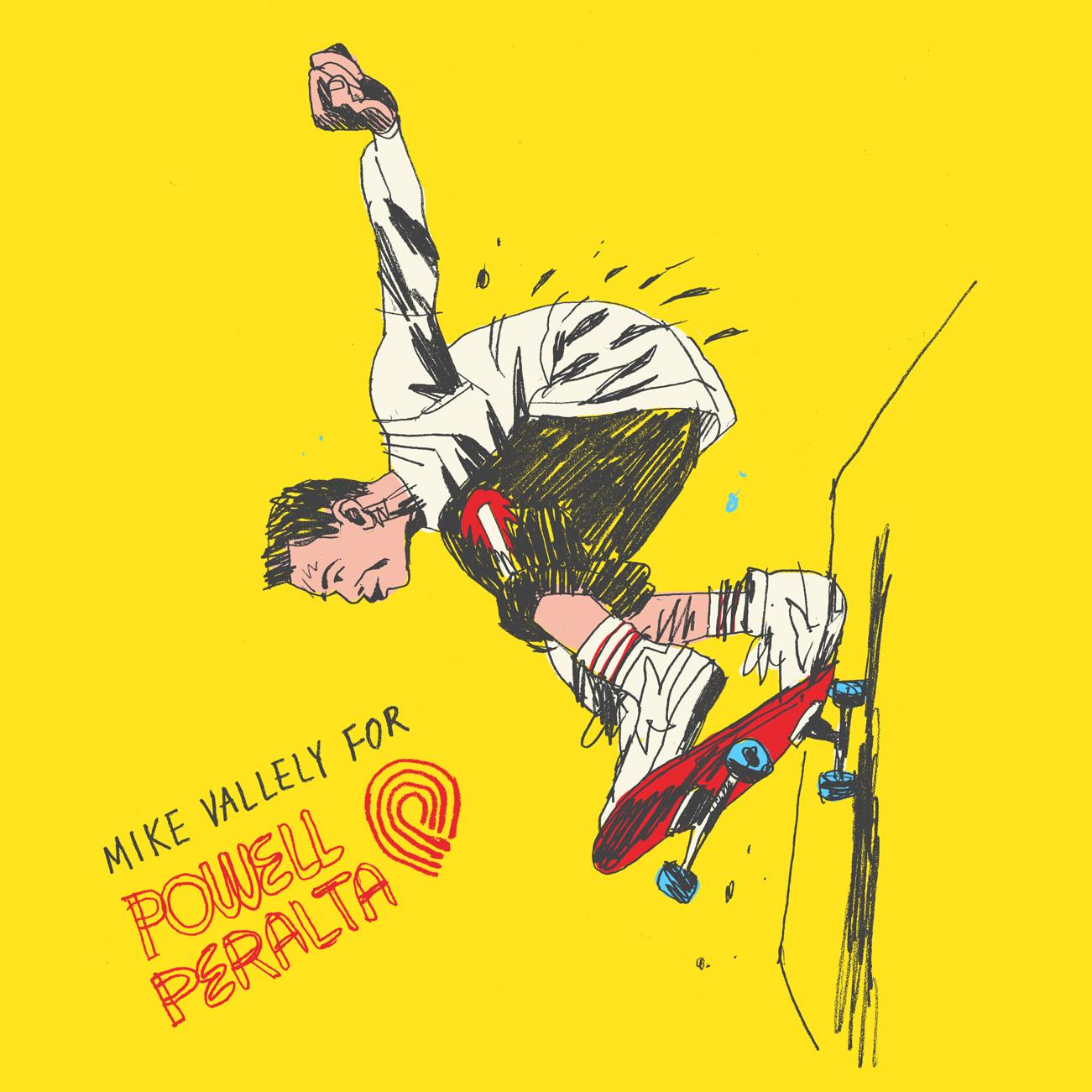 Mike Vallely fan art