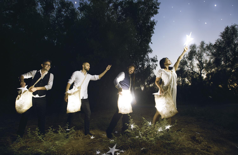 "Yama - ""Basket full of stars"" album cover"