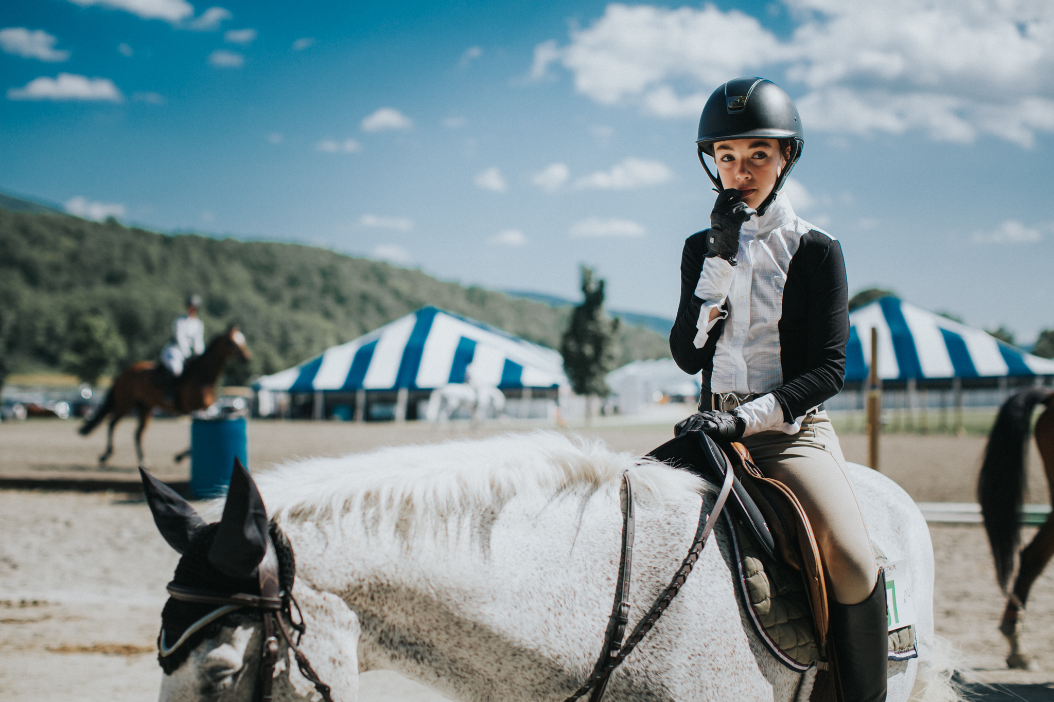 Horseback girl, Personal project
