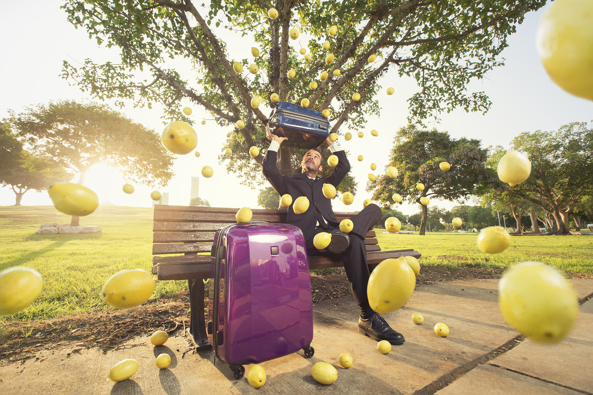 Redland London- Luggage Ad