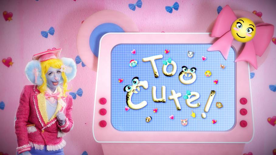 "Rachel Maclean's is exhibiting ""Too Cute"" at the Birmingham Museum and Art Gallery"