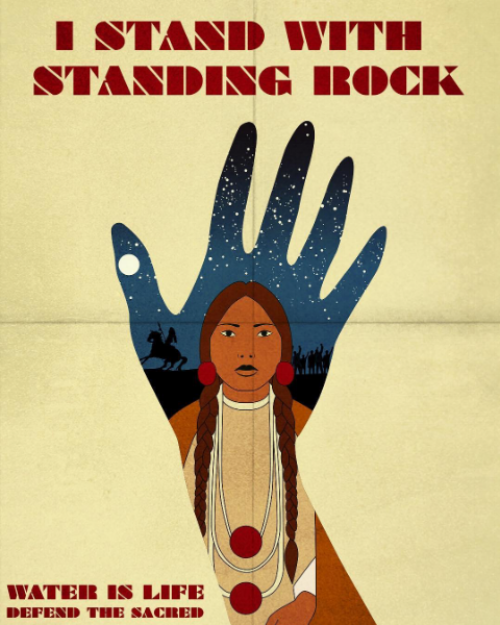 #istandwithstandingrock by  Harley And J