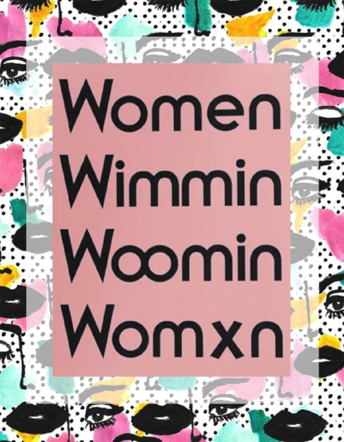 Women Poster by  MODERN WOMEN for OTHERWILD  / Pop Art Face by  Bouffants and Broken Hearts  / Edit by me