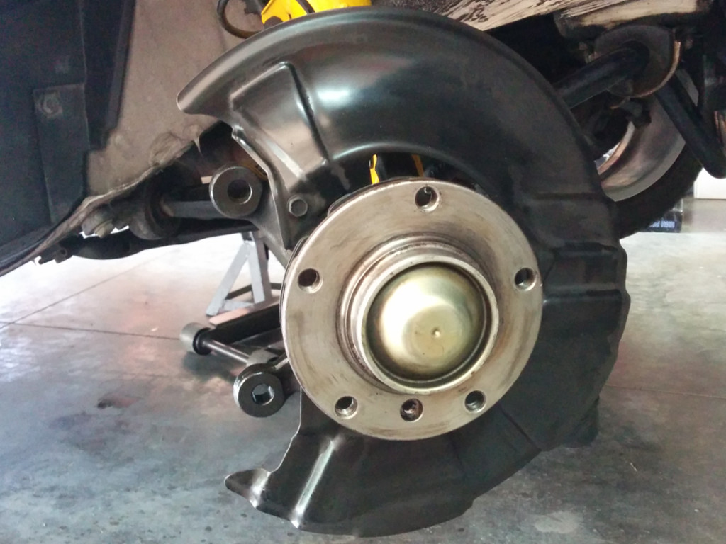 Z3 M Roadster Front Brakes Disassembled