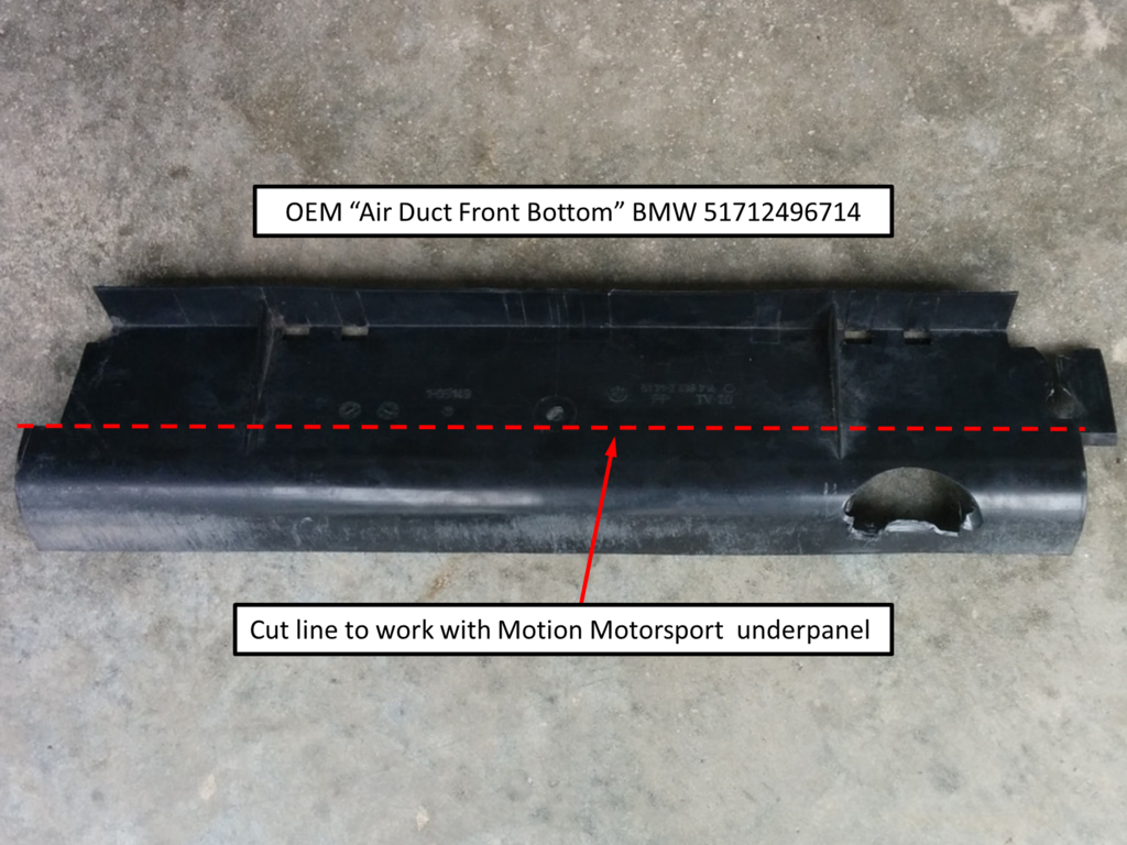 "Modified ""Air Duct Front Bottom"""