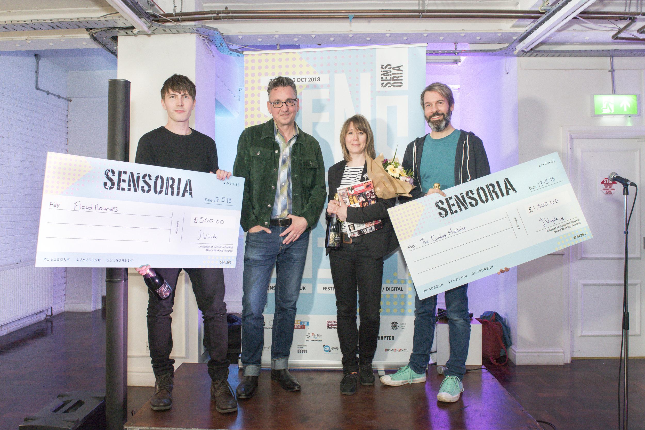 Sensoria 'Beats Working' Awards - 2018