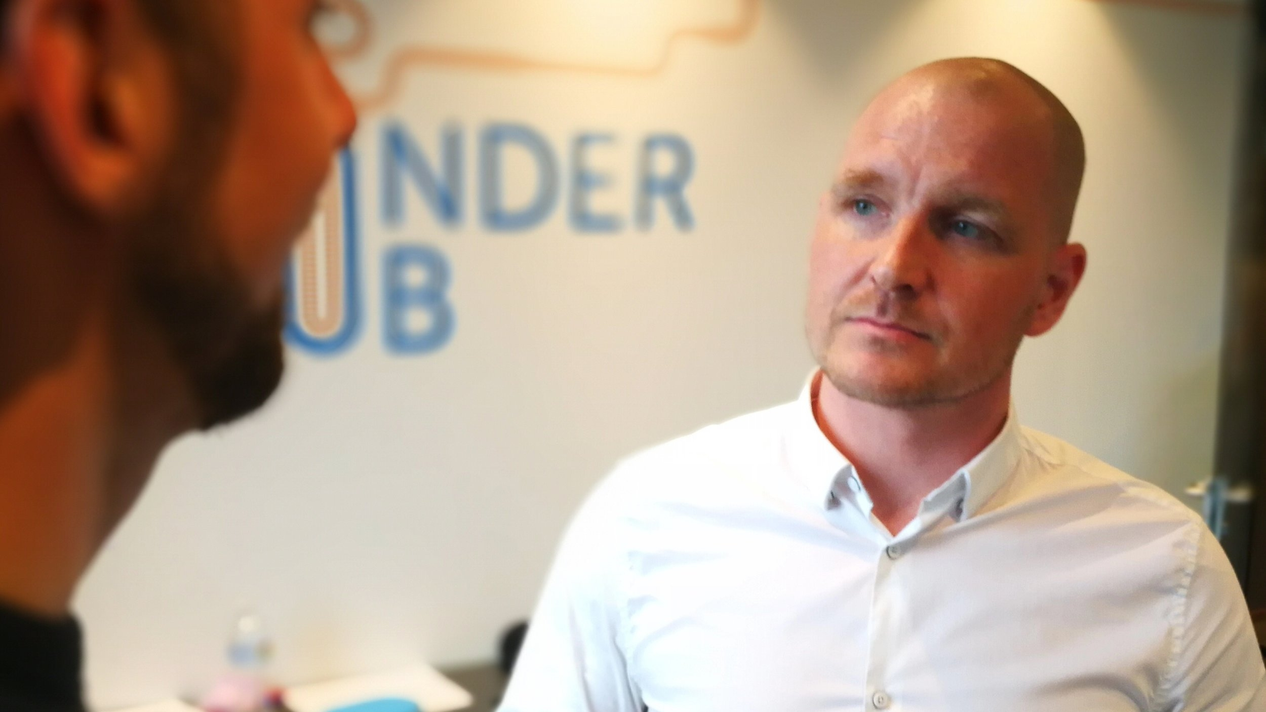Kevin Graeter, Monetær. Deltaker i Gründerhub.